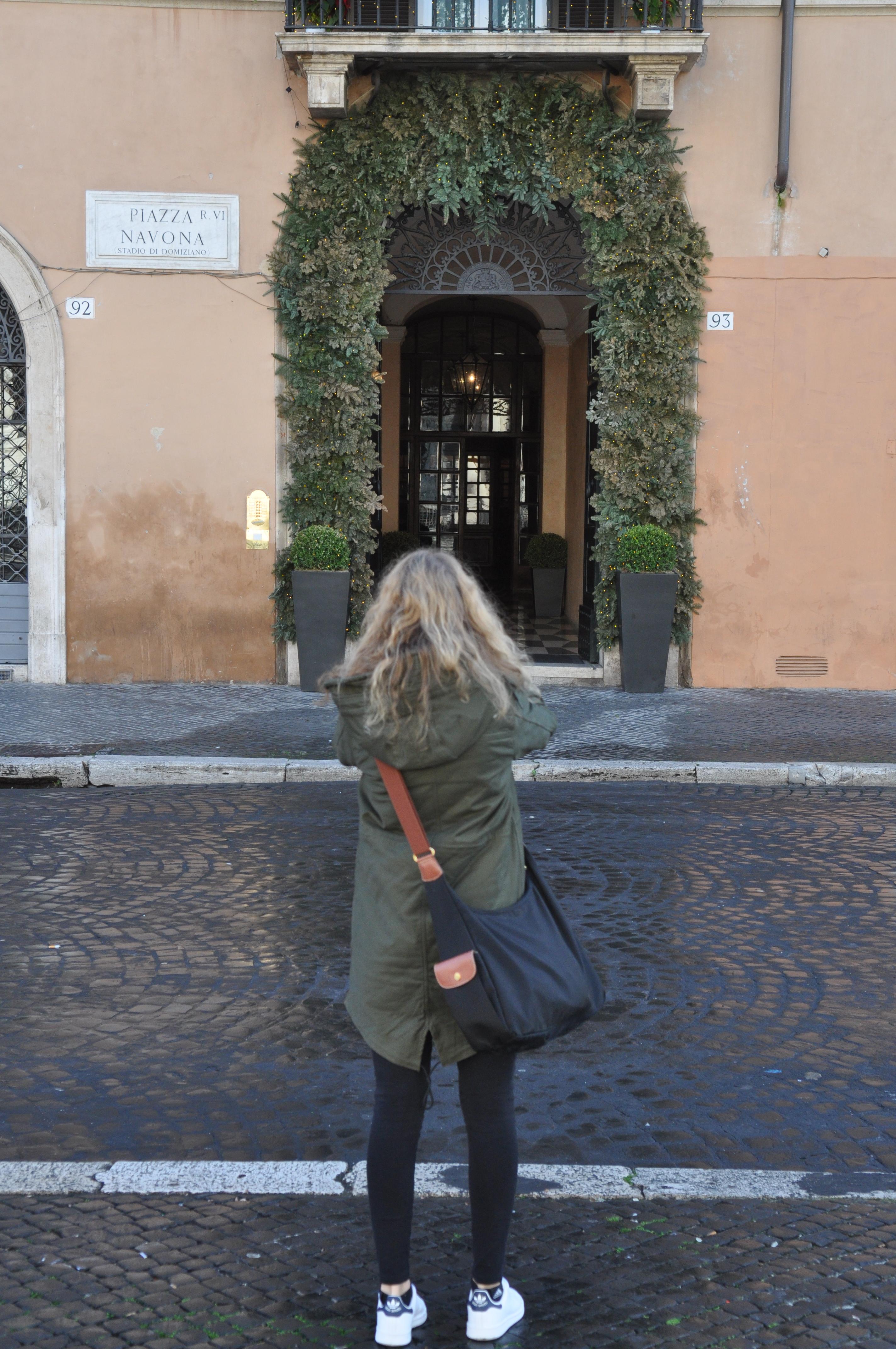 Ich am Piazza Navona